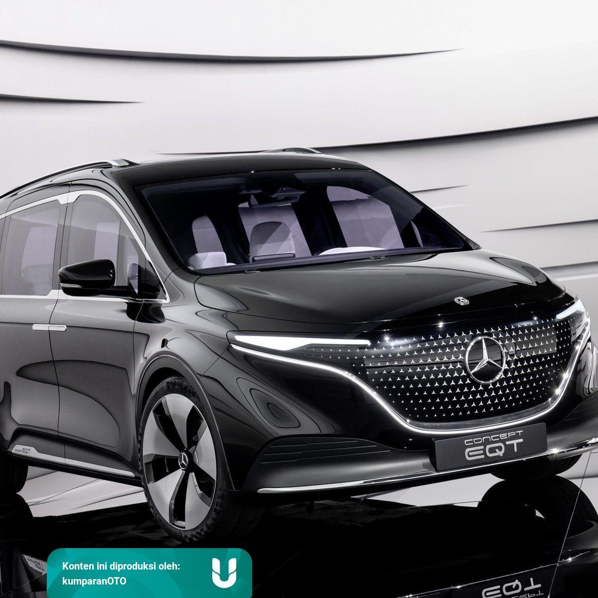 Inilah Mercedes Benz Eqt Mobil Listrik Mini Van Yang Bisa Angkut 7 Penumpang Kumparan Com