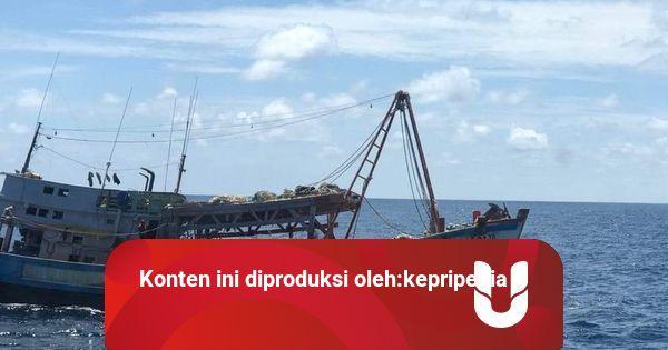 PSDKP Batam Tangkap 2 Kapal Asing Pencuri Ikan di Natuna