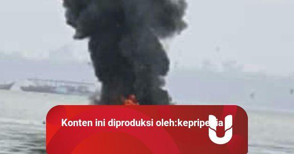 Speedboat Milik Pemkab Karimun Terbakar Usai Isi BBM