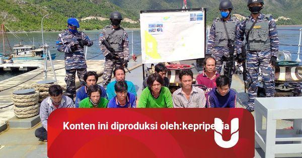 2 Kapal Ikan Vietnam Ditangkap di Natuna