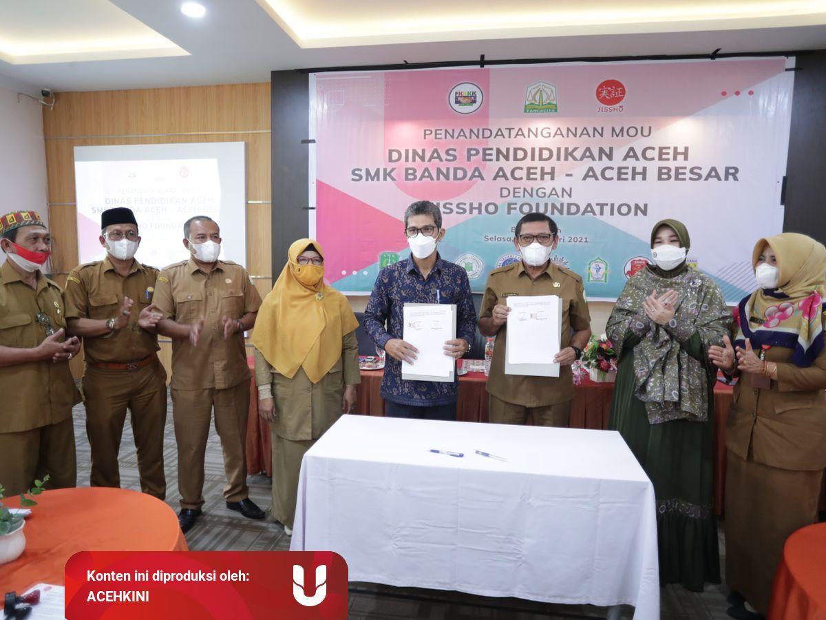 Dinas Pendidikan Aceh Jissho Jalin Kerja Sama Magang Lulusan Smk Ke Jepang Kumparan Com