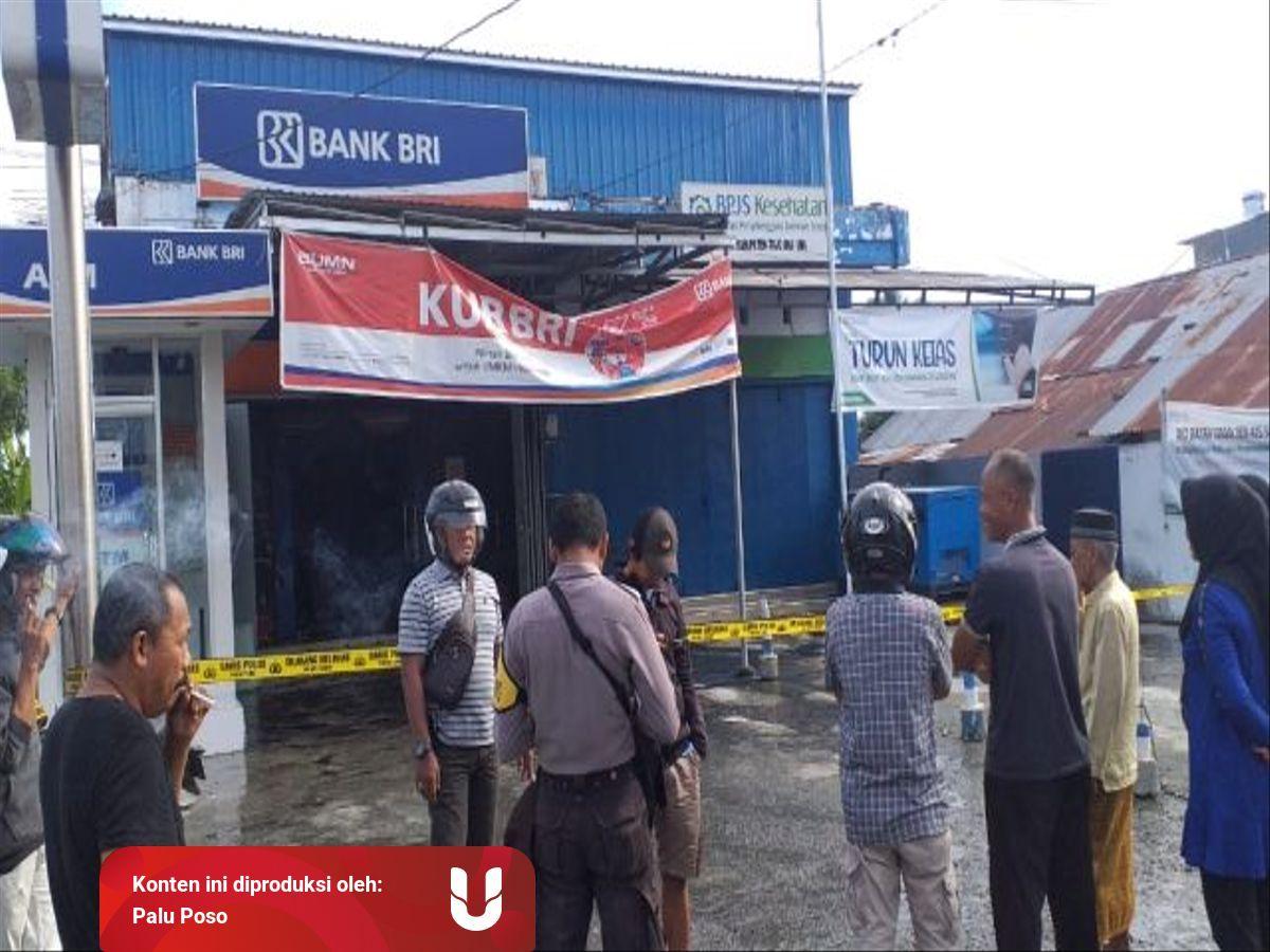 Kantor Bank Di Ampana Sulawesi Tengah Dilempari Bom Molotov Kumparan Com