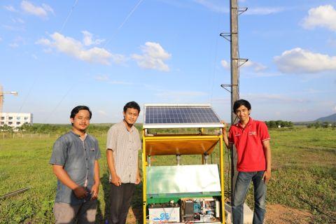 Keren! Tiga Mahasiswa Teknik Elektro Itera Berhasil Ciptakan Alat Pemanen  Energi