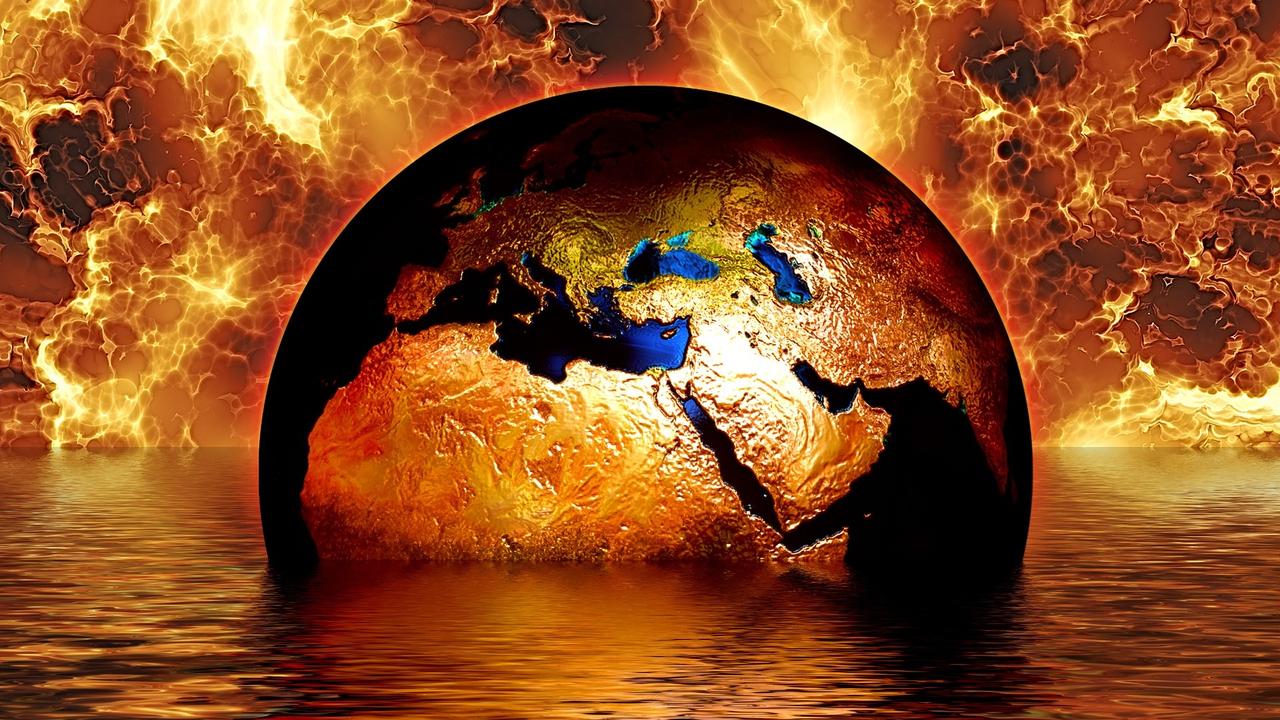 Pemanasan global.