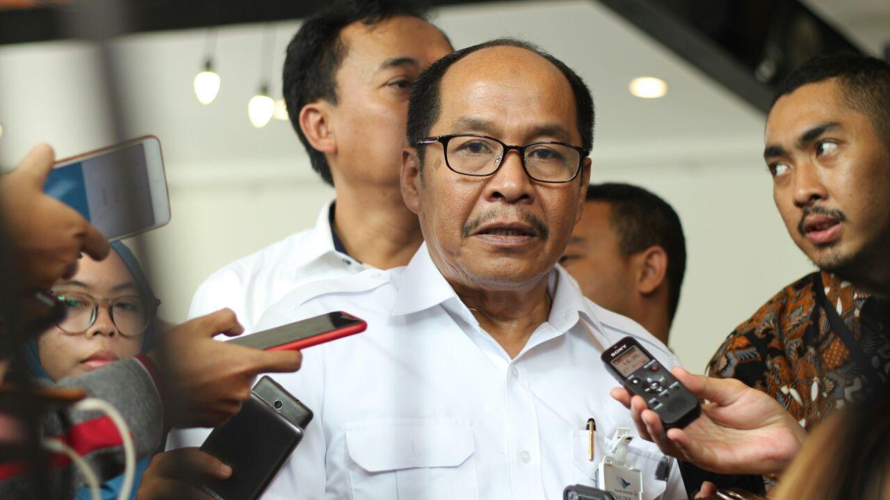 Direktur Operasi Garuda Triyanto Moeharsono