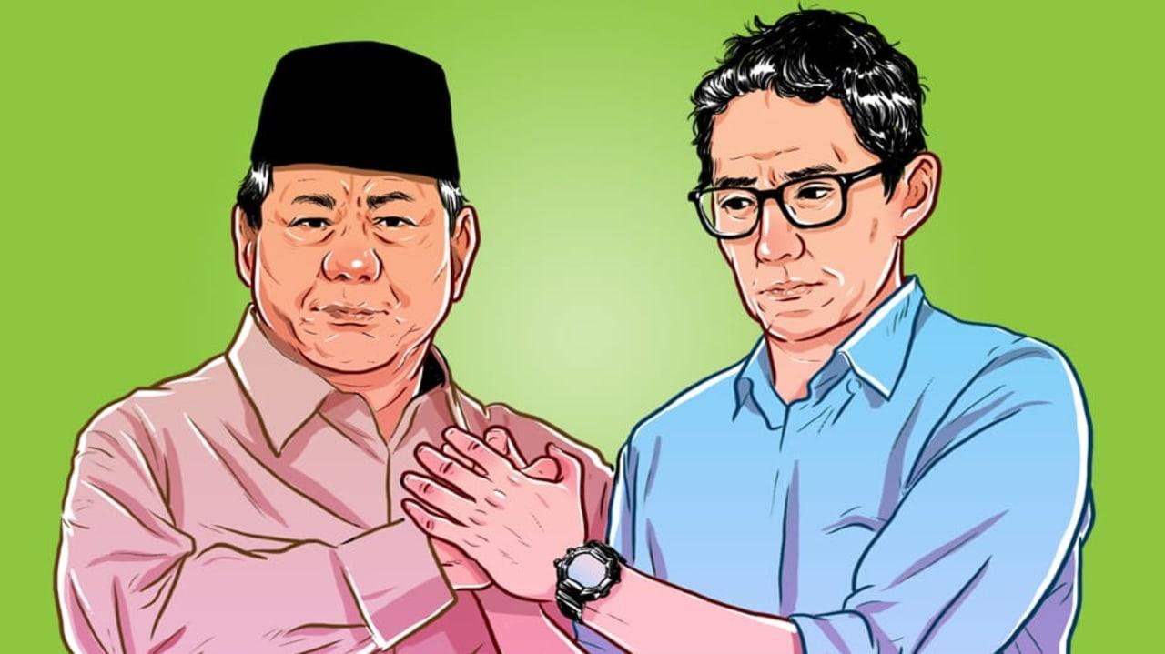 Ilustrasi Lipsus kumparan: Gusar Prabowo Usai Pemilu