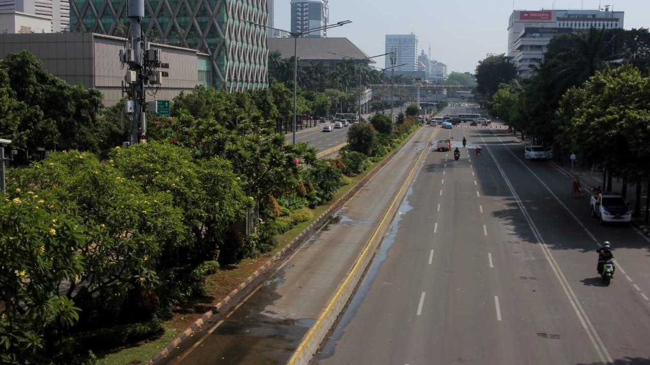 Aksi 22 mei, Jalan MH Thamrin, Pasca ricuh