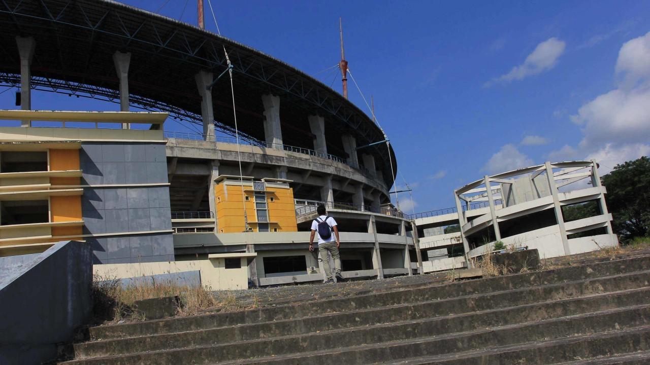 Stadion Utama Palaran, Samarinda, Kalimantan Timur.