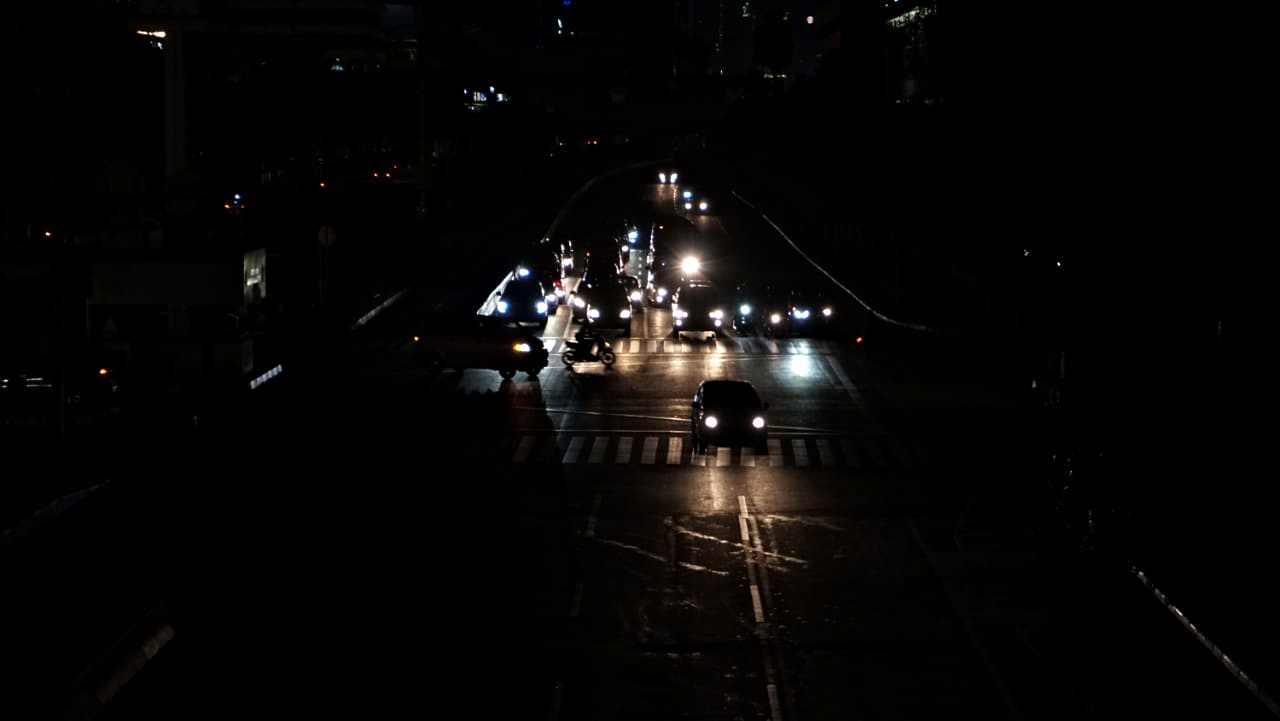 Mati Lampu Serentak, Jakarta