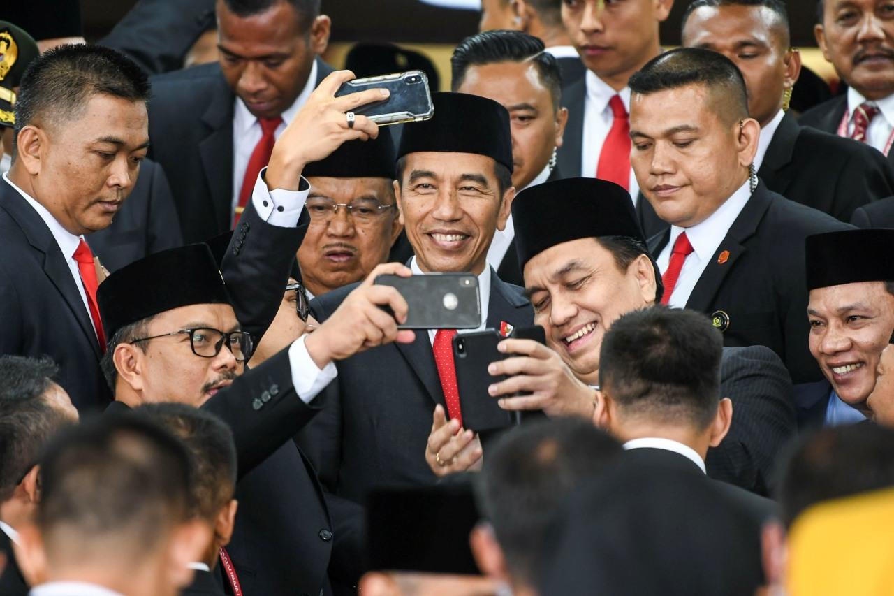 Pelantikan DPR RI, Joko Widodo