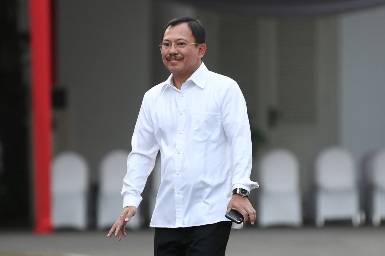 dr Terawan Agus Putranto, Istana Negara