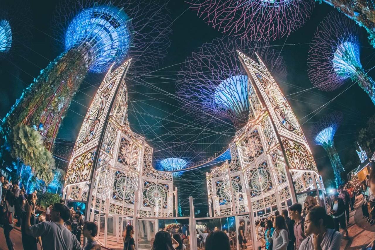 Christmas Wonderland at Gardens by the Bay, Singapura