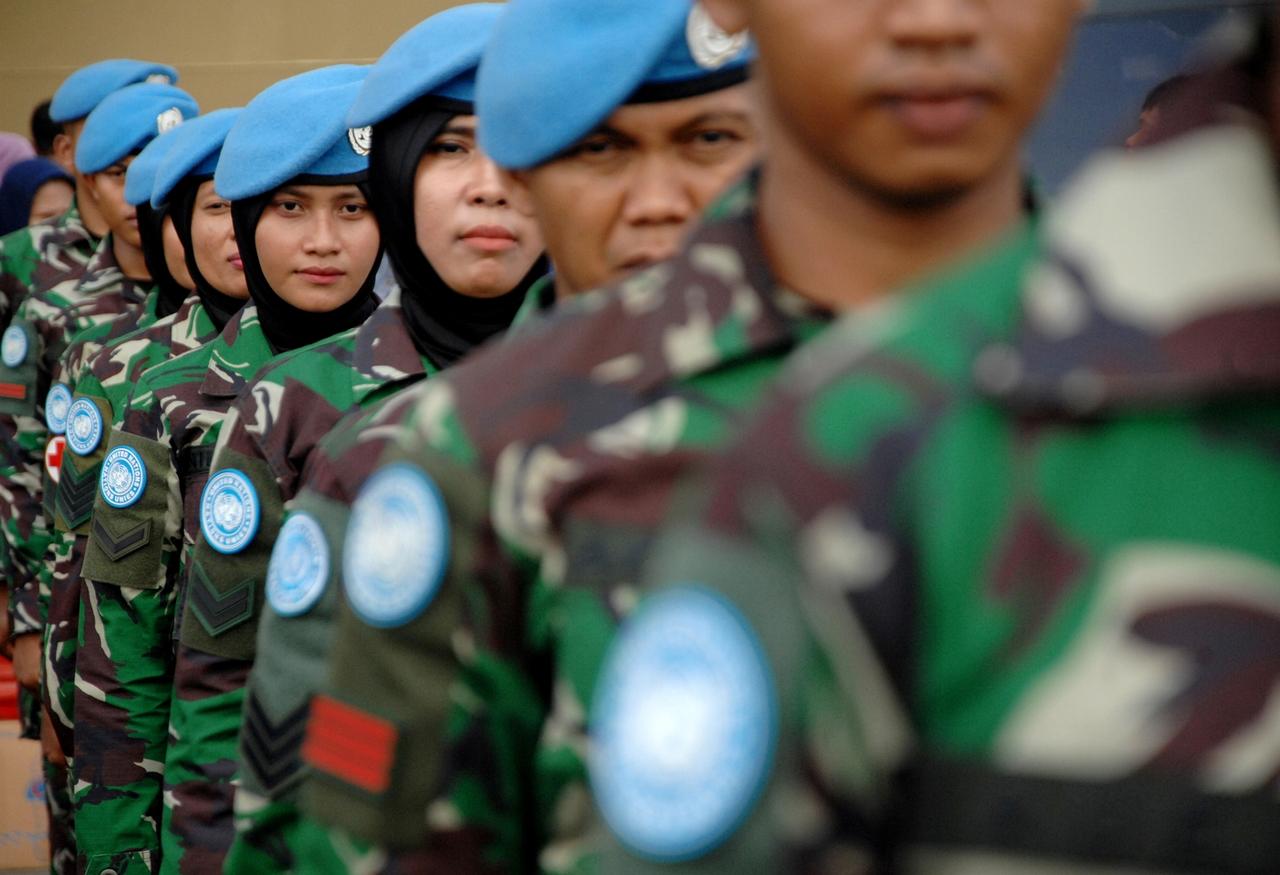 Pasukan Perdamaian PBB, TNI AD