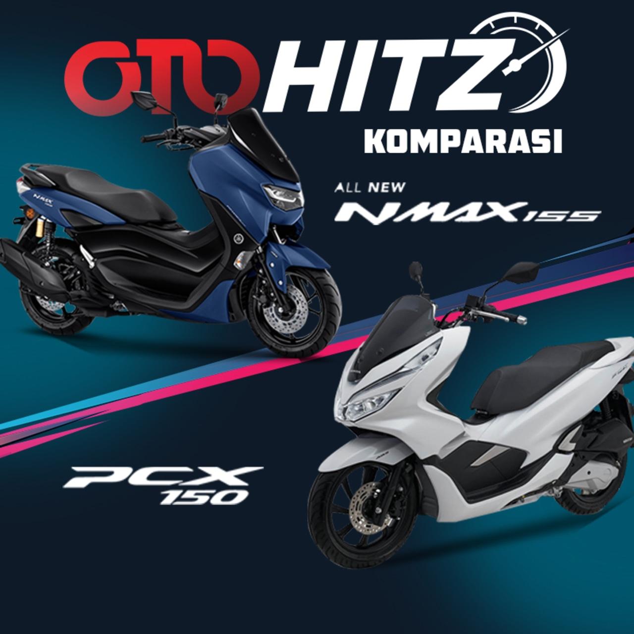 OTOHITZ, OTOHITZ VII, Komparasi, Yamaha NMax, Honda PCX