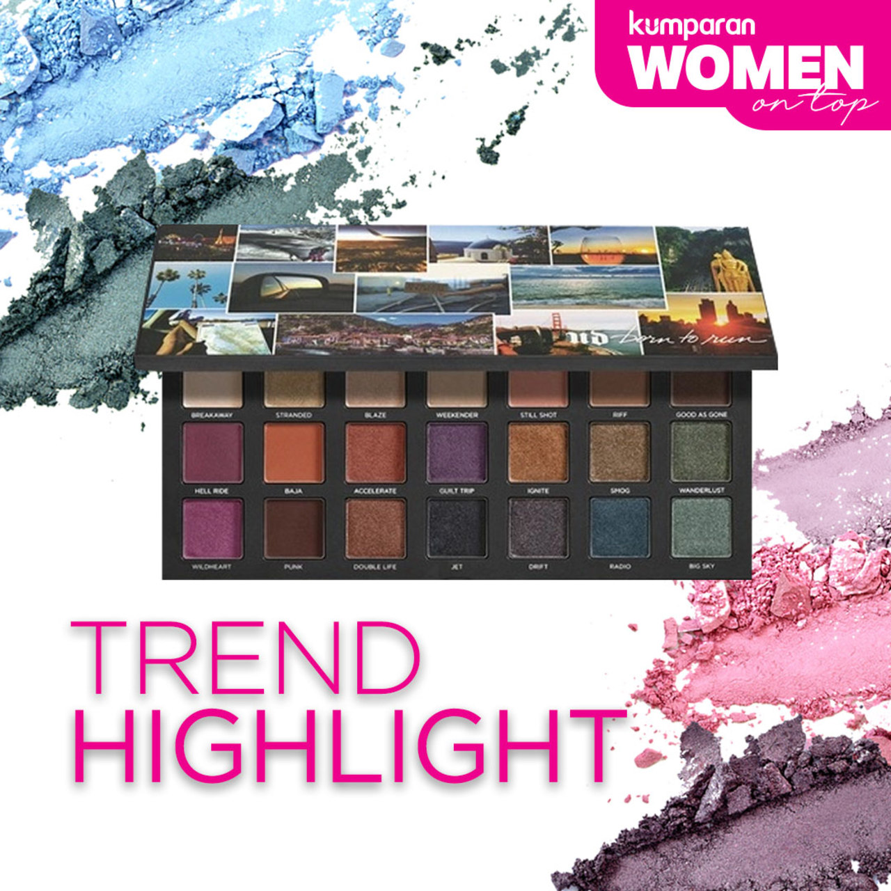 Women on Top - Trend Highlight Eyeshadow