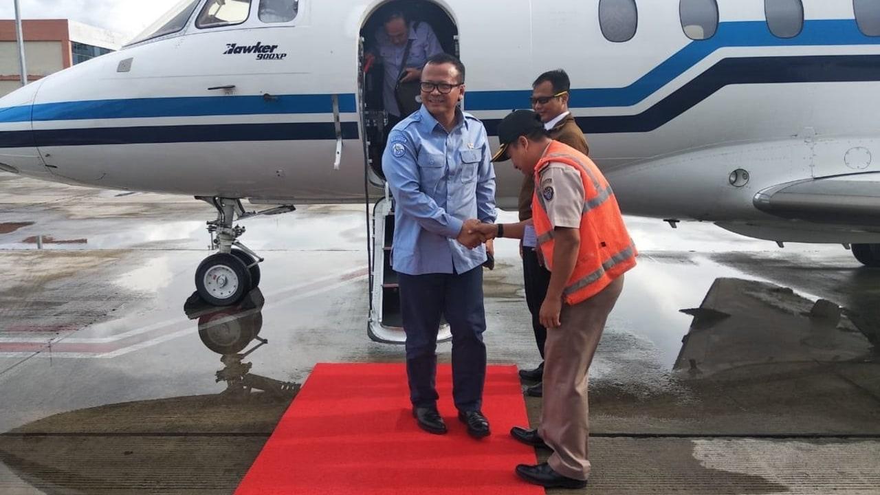 Menteri KKP Edhy Prabowo, Kunjungan kerja Kalimantan Barat