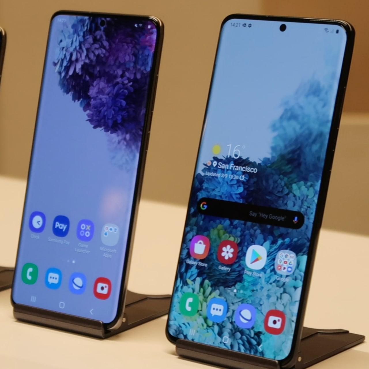 SQR - Samsung Galaxy S20, Galaxy S20 Plus