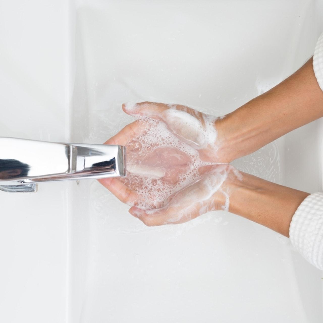 SQ- Ilustrasi cuci tangan