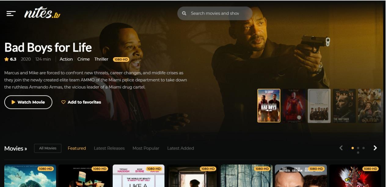 Viral Situs Streaming Film Gratis Nites Tv Apakah Legal Dan Aman Kumparan Com