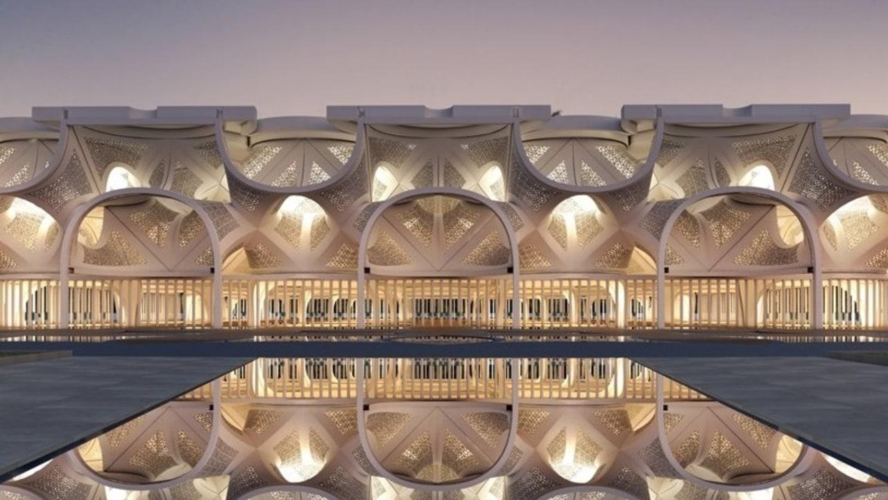 Masjid cahaya di Dubai