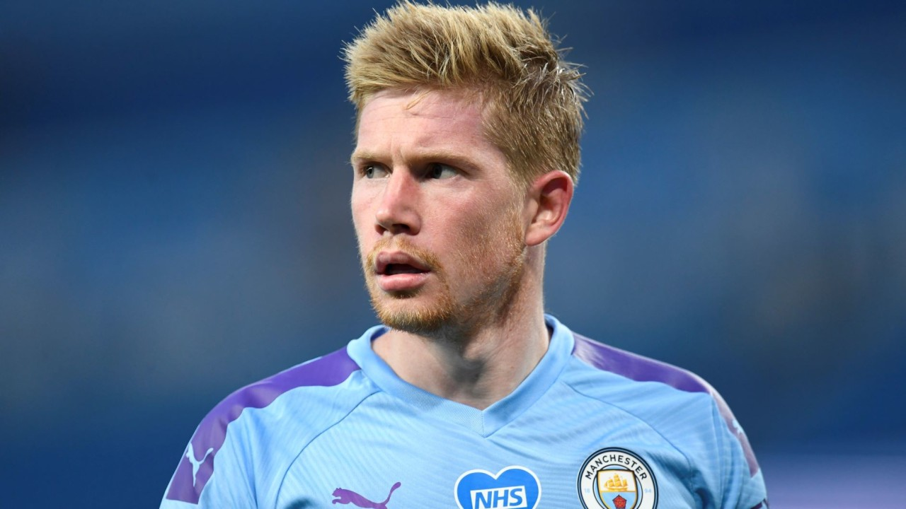 Kevin De Bruyne, pemain Manchester City
