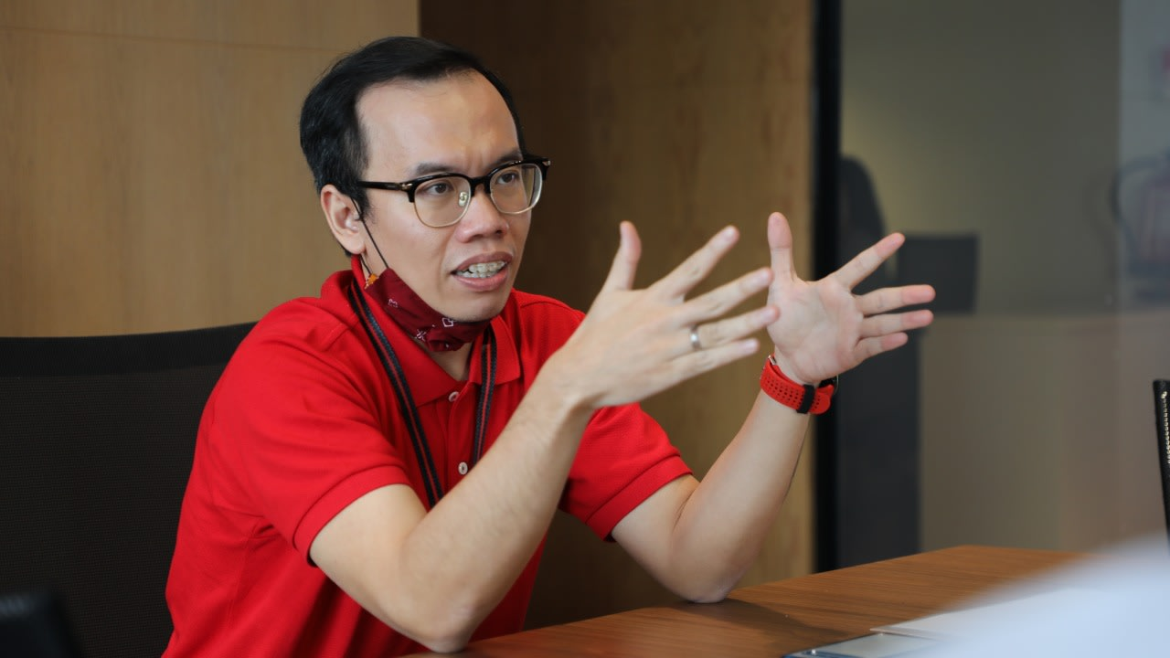 Direktur Digital Business Telkom, Fajrin Rasyid