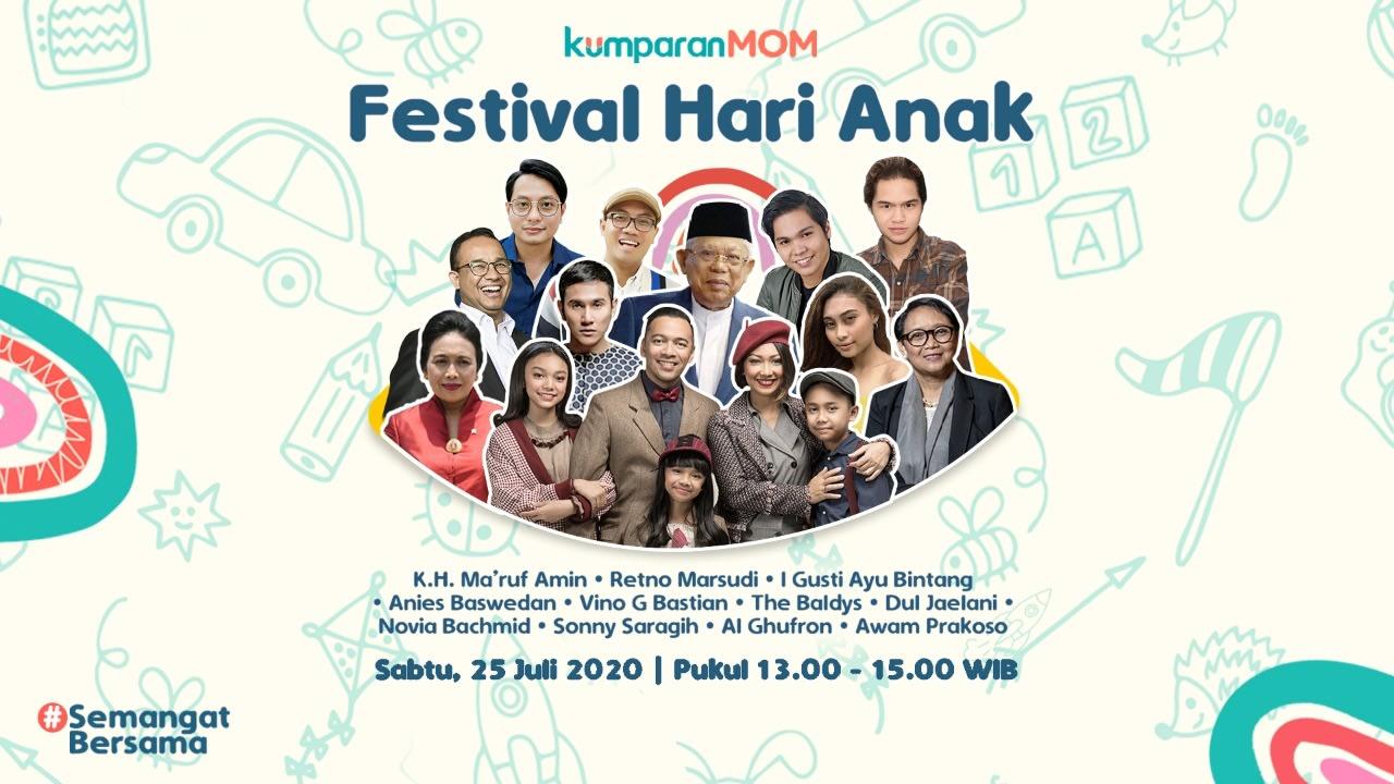 Hari ketiga Festival Hari Anak