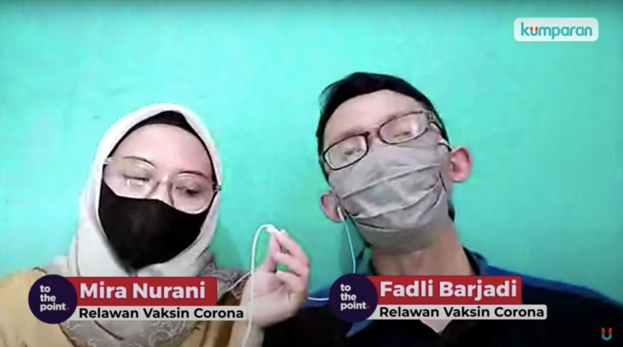 Relawan vaksin Corona di Bandung