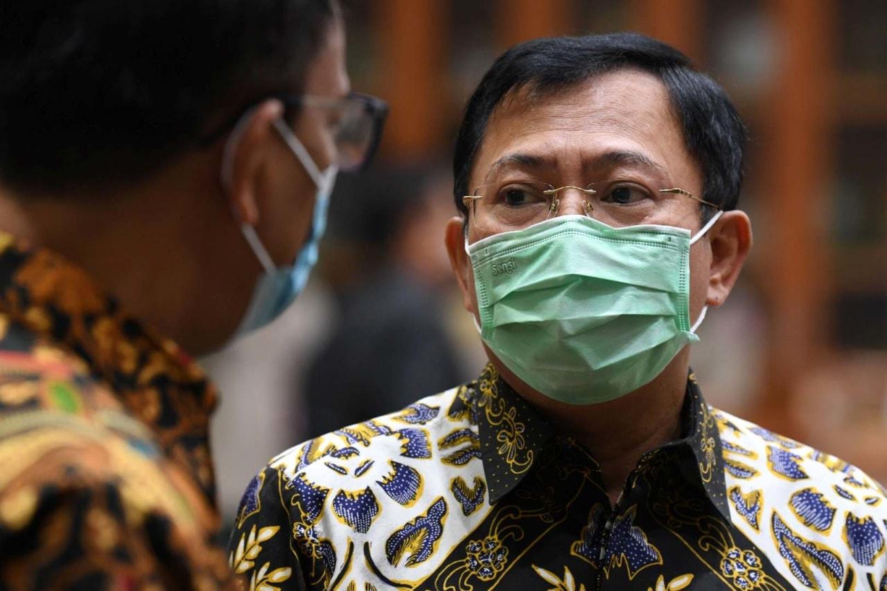 Menteri Kesehatan Terawan Agus Putranto- DPR