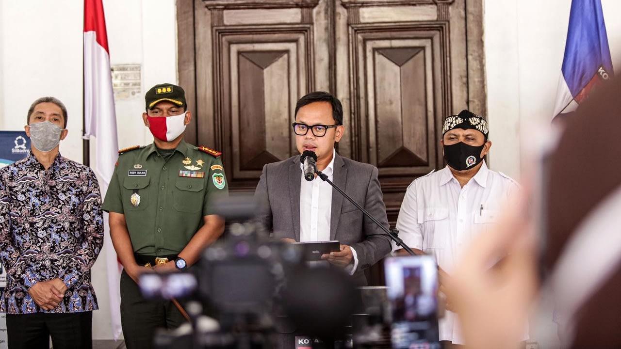 Konpers Wali Kota Bogor Bima Arya soal zona merah