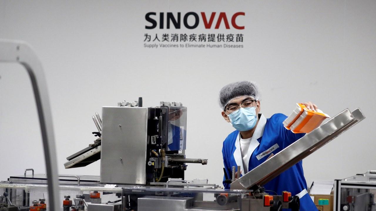 Ilustrasi vaksin corona dari Sinovac