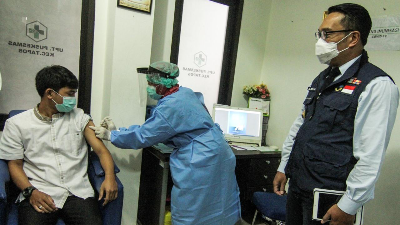 Simulasi vaksin COVID-19