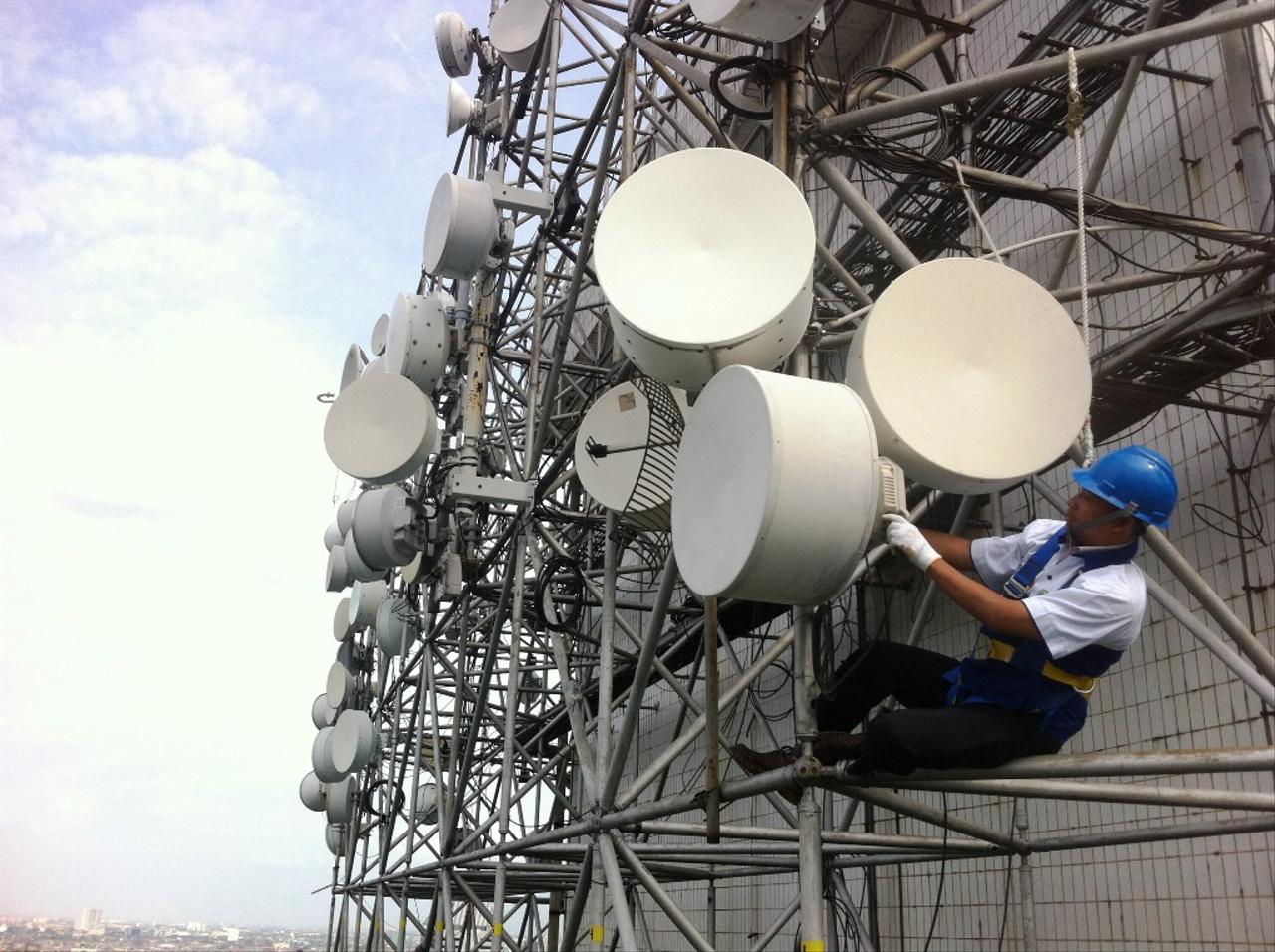 Ilustrasi Jaringan Telekomunikasi