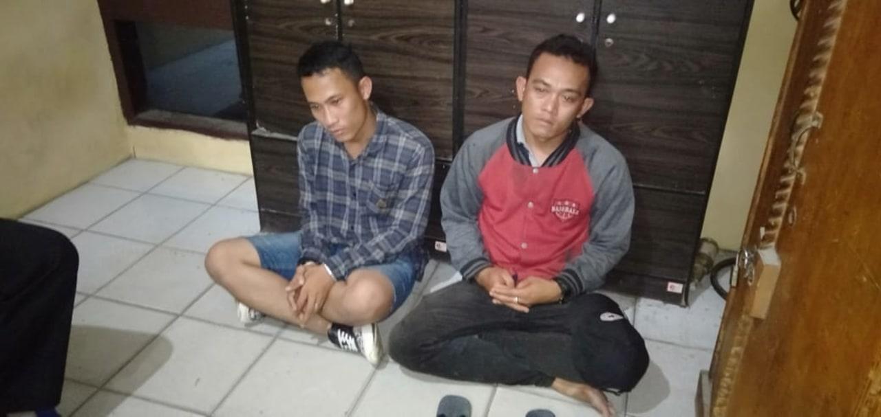 2 warga di Batang Kuis karena pasang spanduk tolak HRS.