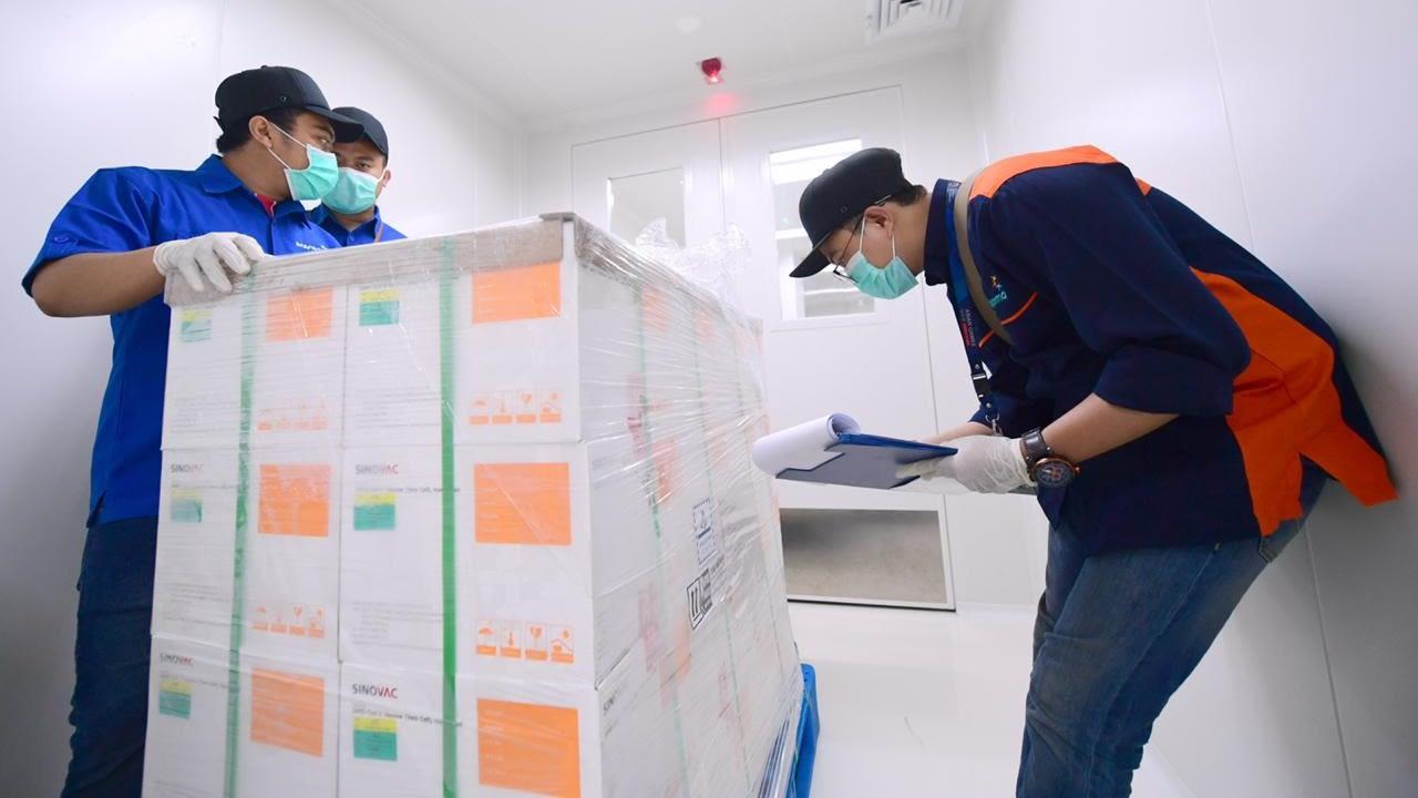 Vaksin COVID-19 Sinovac tiba di Bio Farma