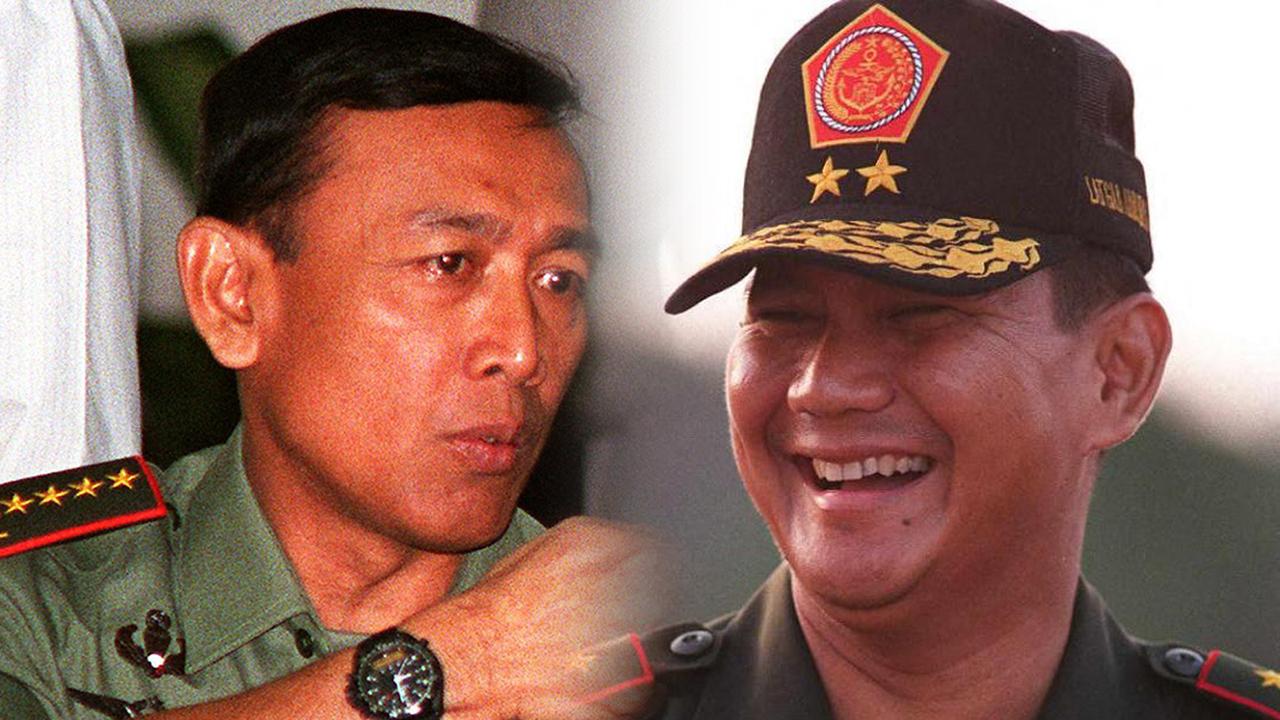 Lipsus Sintong- Wiranto dan Prabowo