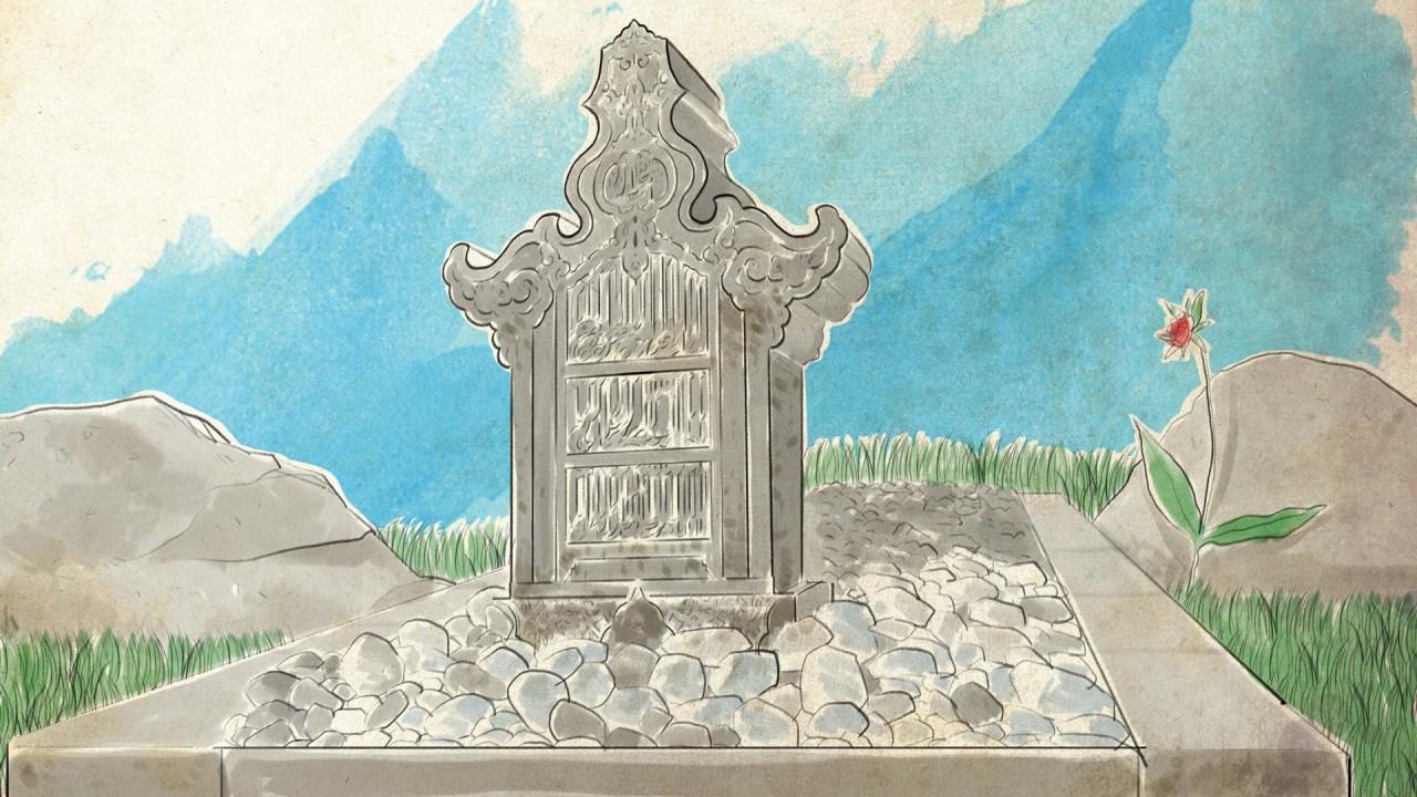 Kumplus cover fiksi Raisa Kamila- part 6, Makam