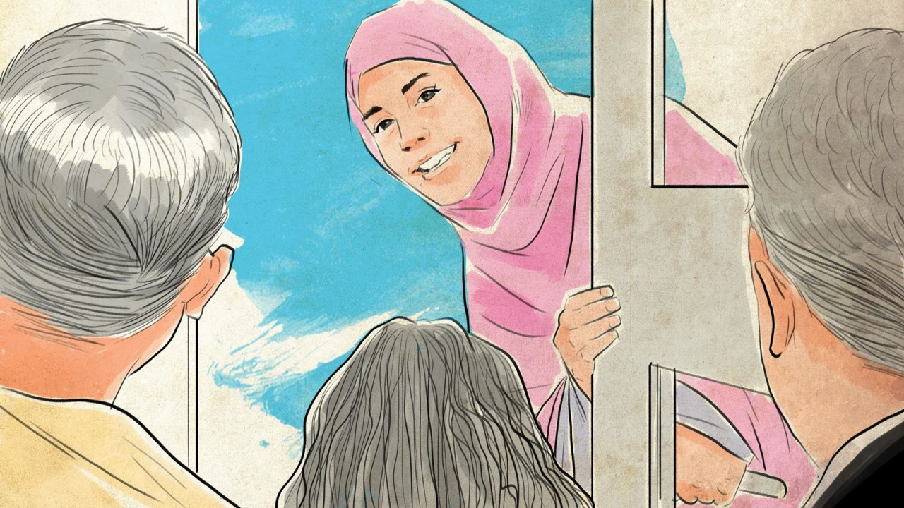 Kumplus- cover fiksi Raisa Kamila- Menemui Syarifah