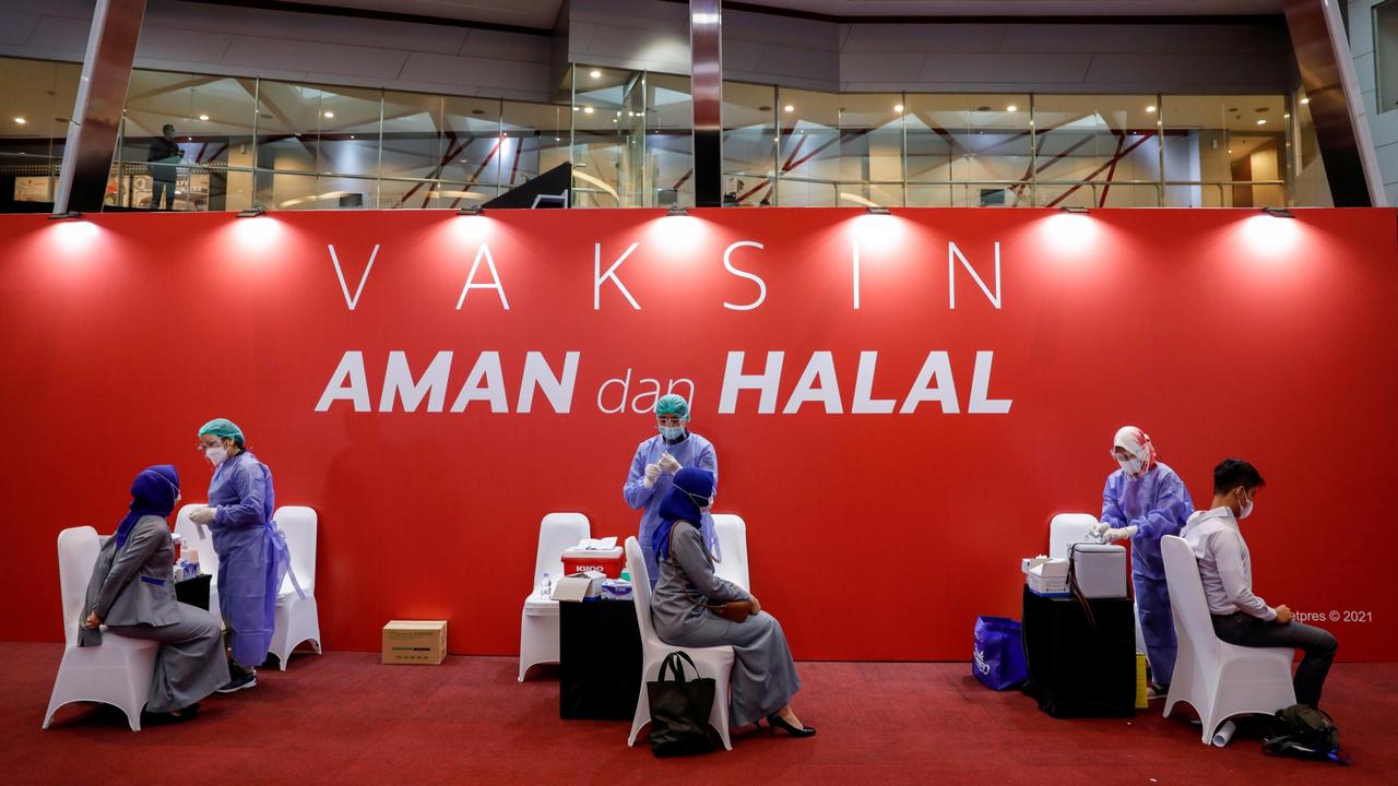 Vaksinasi corona di Bursa Efek Indonesia