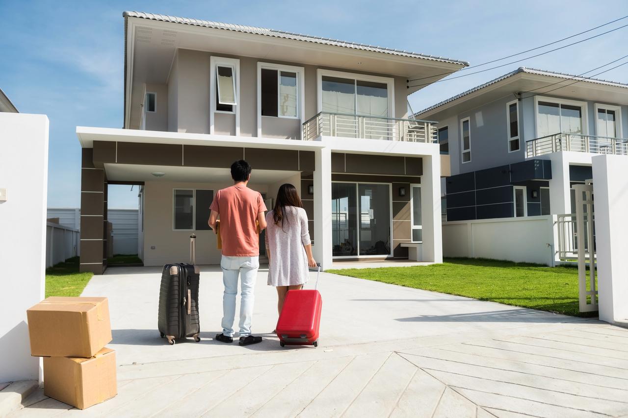 Ilustrasi pindah rumah