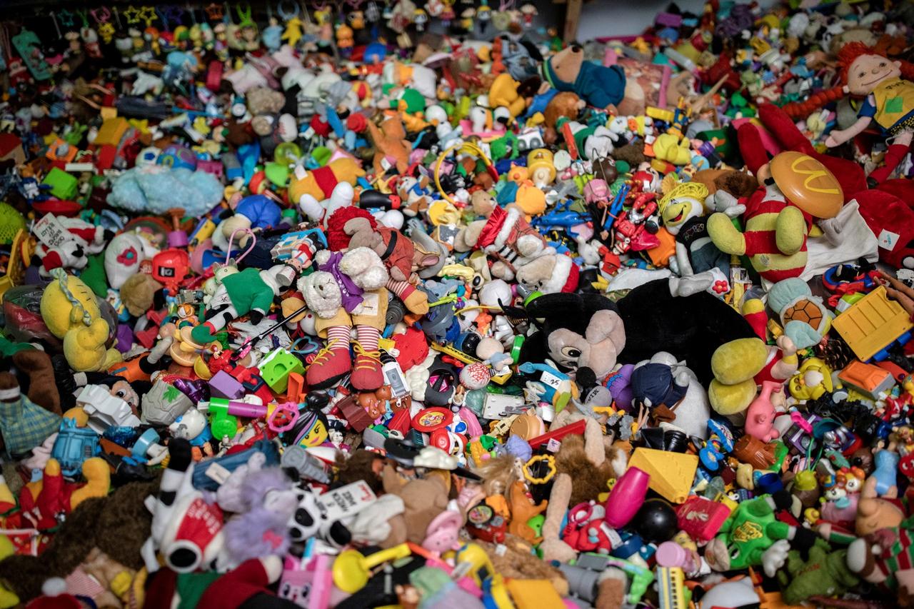 Rekor dunia koleksi mainan restoran siap saji di Filipina