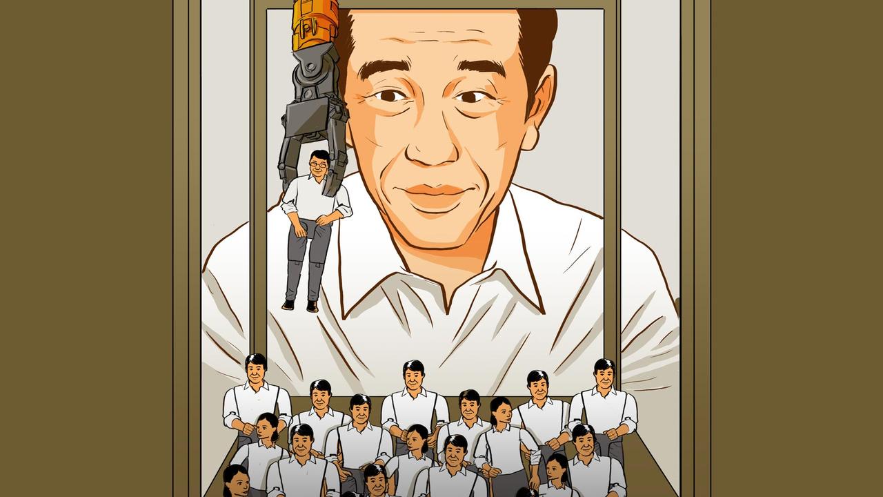 Lipsus- Reshuffle Kabinet Jokowi- Cover Story
