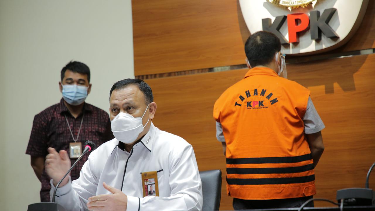 Ketua KPK Firli Bahuri, konpers KPK TSK Munjul