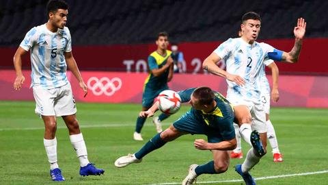 3 Biang Kerok Argentina saat Dipermalukan Australia di Olimpiade 2020 (2)