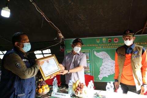 14.754 KK Terdampak Banjir Karawang, BNPB Beri Bantuan Rp 500 Juta