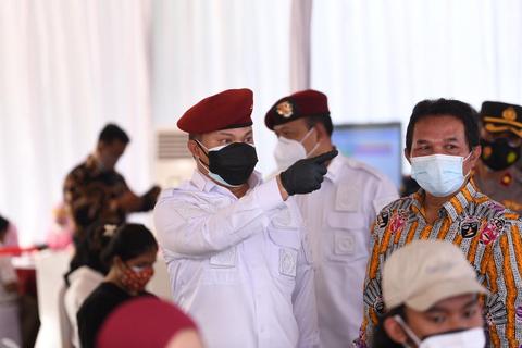 BIN Gelar Vaksinasi untuk Anak Usia 12-17 Tahun di Kembangan, Jakbar (2)