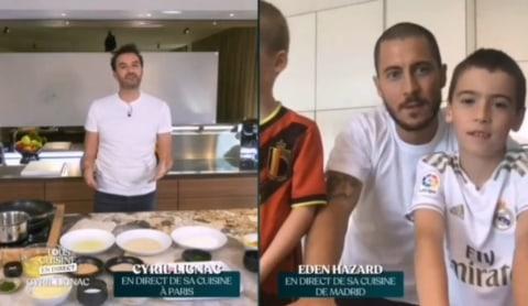 Potret Eden Hazard Bikin Mashed Potato Di Acara Memasak Kumparan Com