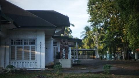 Potret Bangunan Tua Bersejarah di Palembang (8)