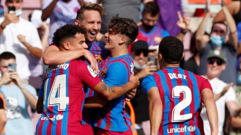Hasil Liga Spanyol: Ansu Fati Kembali dan Cetak Gol, Barcelona Hempaskan Levante