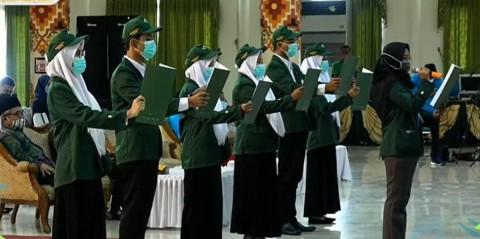 Sebanyak 5069 Mahasiswa UIN Raden Intan Lampung TA 2020/2021 Resmi Dikukuhkan